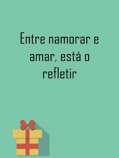 Pretty love quotes Portuguese
