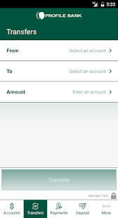 Profile Bank Mobile Banking- screenshot thumbnail