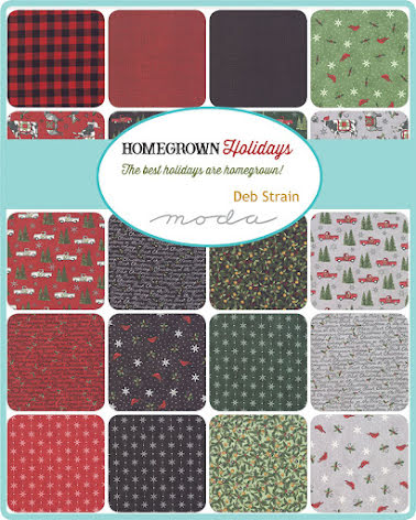 Jelly Roll Homegrown Holidays by Deb Strain Moda (16406)