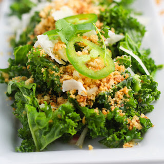 Kale Salad with Toasted Breadcrumbs