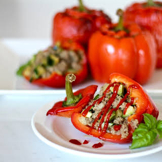 Healthy And Easy Stuffed Bell Peppers.