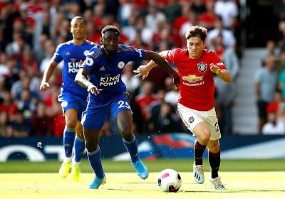 Leicester City en Manchester United delen de punten na aangename wedstrijd