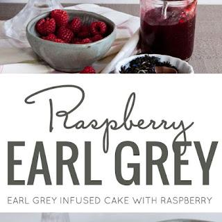 RASPBERRY EARL GREY CAKE