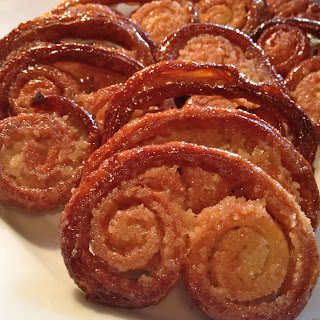 Homemade Palmiers ~ Using that puff pastry we made.
