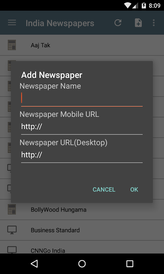 India Newspapers - screenshot