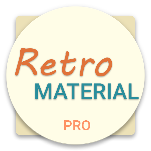 Retro Material EMUI 5.X/8.0 Theme (Pro)