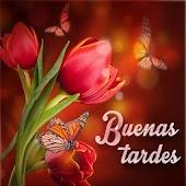 Buenas Tardes con Flores Mod