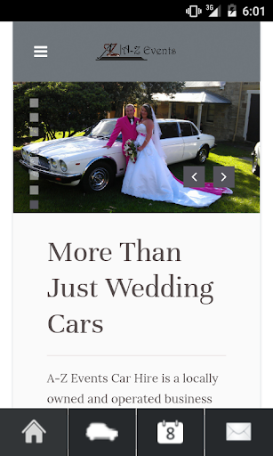A-Z Events Wedding Cars