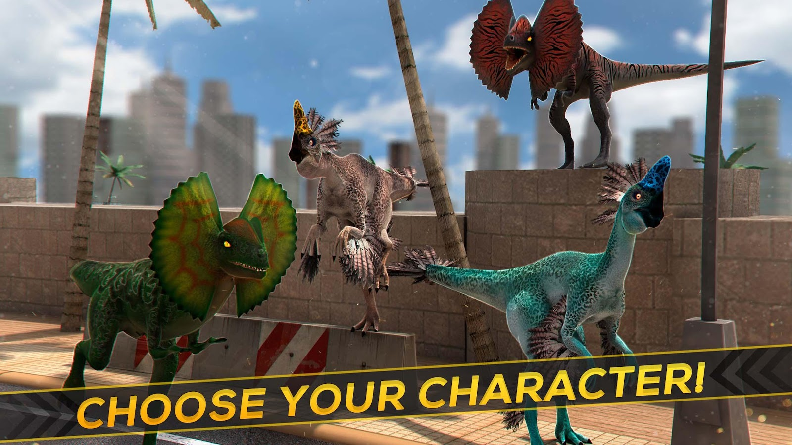 Real Jurassic Dinosaurs Race- screenshot