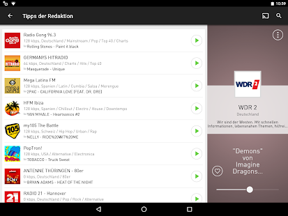 radio.de - Der Radioplayer – Miniaturansicht des Screenshots