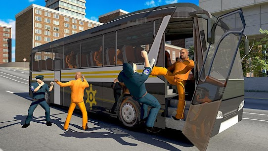 US Prison Transport: Police Bus Driving – Unlocked MOD APK Android 2