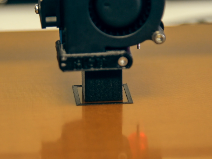 Print a calibration cube to get your Z offset perfect, before you ruin your brand new print bed.