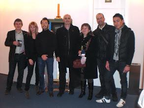 Photo: Jaime Fontán, Gaizka Urresti, Vicky Calavia, Miguel Mena, Antonio Charles, Belén Calavia, Juanjo Hernández y Víctor Leiva