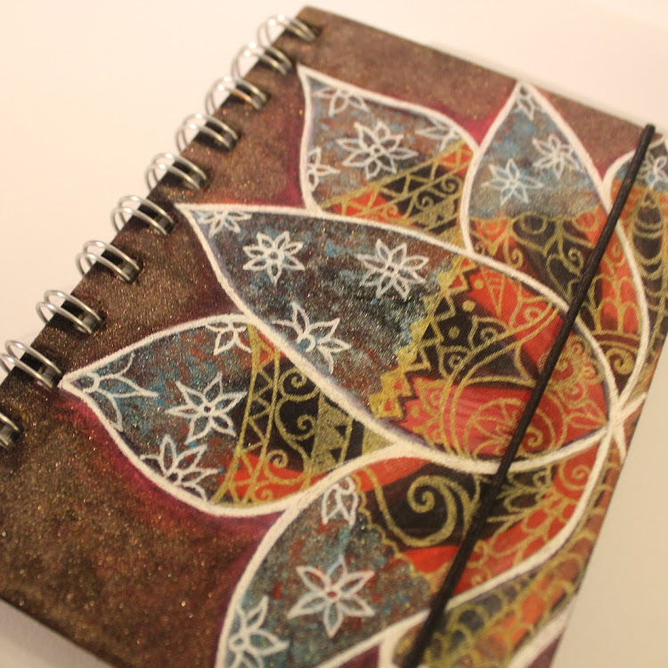 Grounding Lotus - A5 notebook
