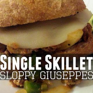 Single Skillet Sloppy Giuseppes