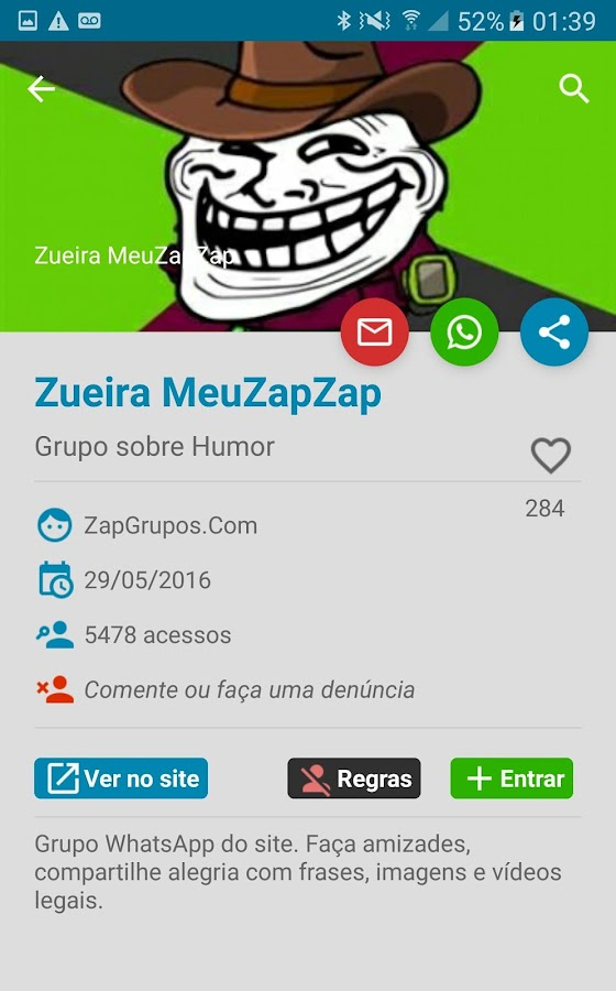 Zap Grupos- screenshot