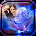 Macro Rose Photo Frame icon