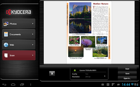 KYOCERA Mobile Print screenshot 3