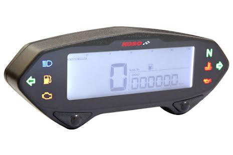 KOSO DB-01RN Speedometer with Tachometer
