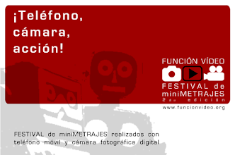 Photo: UNCIÓN VÍDEO - miniFILM Festival 2007. The first film festival in Spain to promote the use of mobile devices and digital cameras for short film productions. Watch the best miniFILMS on Vimeo Channel: https://vimeo.com/channels/funcionvideo