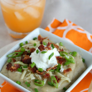 Loaded Baked Potato Soup (Crock Pot)