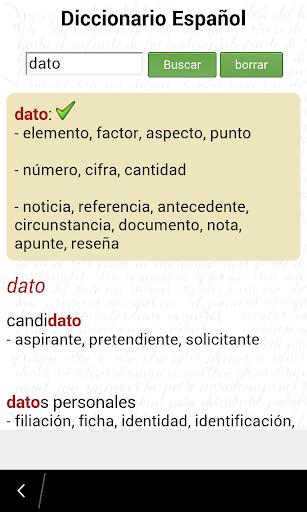 Diccionario Español Offline