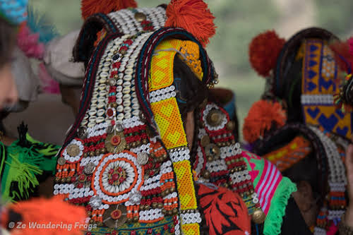 Pakistan Culture of the Kalash Valley Pakistan // Traditional Kalash Headgear