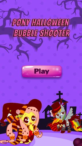 Pony Halloween Bubble Shooter