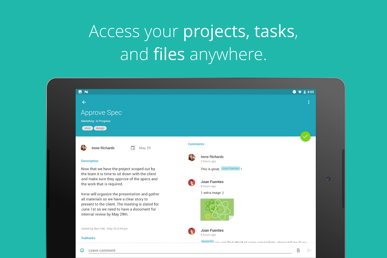 Redbooth - Task & Project Management App- screenshot