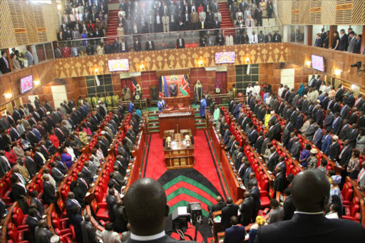 Members of National Assembly and Senate during the opening of the 11th parliament. Photo/Monicah Mwangi