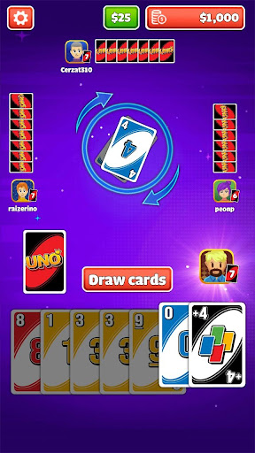 Uno Classic apktreat screenshots 1