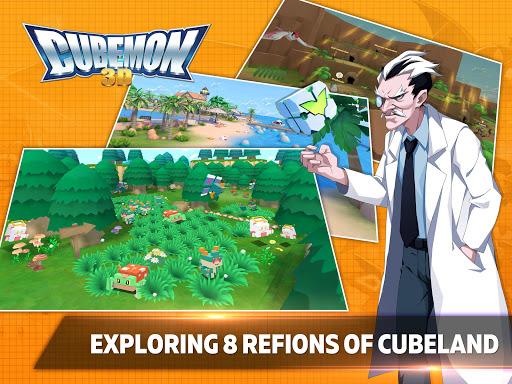 Cubemon 3D:MMORPG Monster Game 5.1 screenshots 4