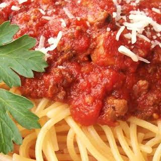 Stew Meat Spaghetti Sauce Recipes.