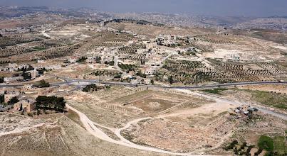 Photo: Roman camp at Herod's tomb site