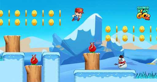 Super Bino Go 2 - Classic Adventure Platformer apkslow screenshots 5