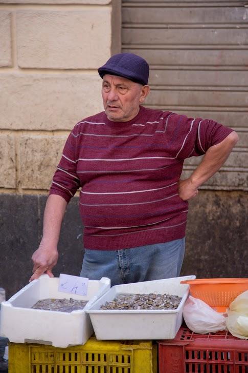 Katania, targ rybny Pescheria