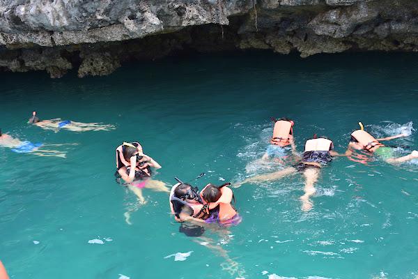 Snorkel fun at Angthong Marine Park