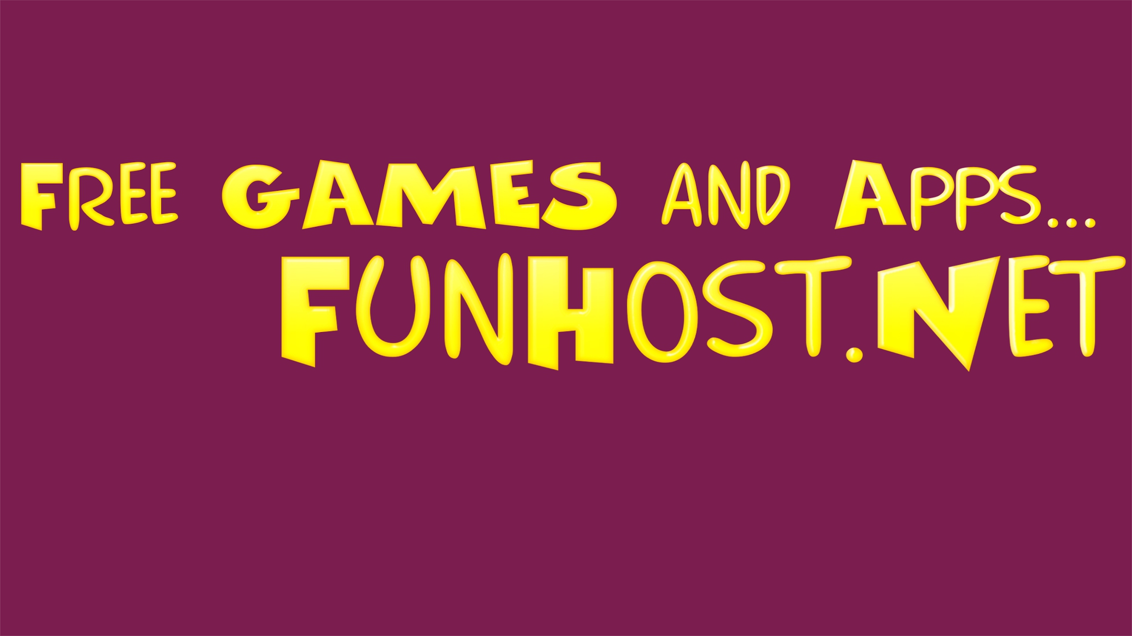 Fun Host Apps & Games