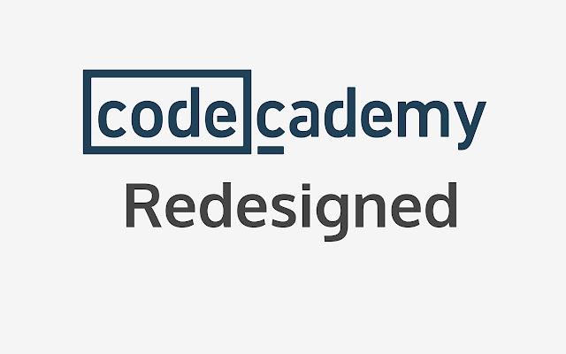 Codecademy Redesigned