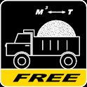 Calculator bulk materials icon
