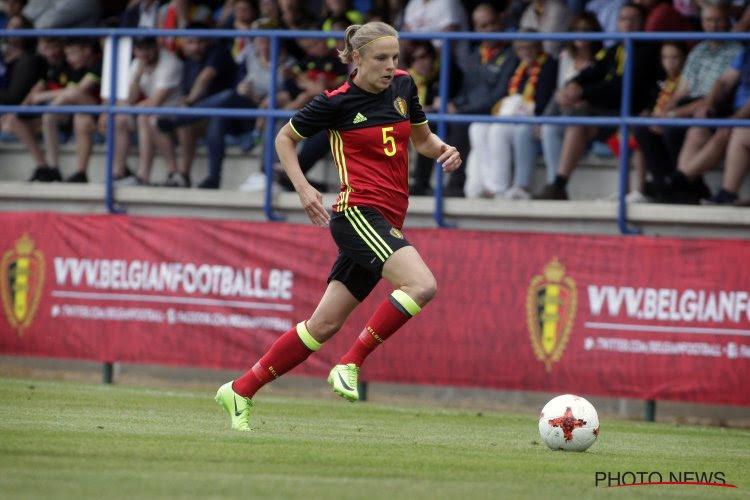 Lorca Van De Putte incertaine pour l'Euro?