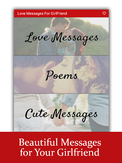 Love Messages for Girlfriend ♥ Flirty Love Letters APK