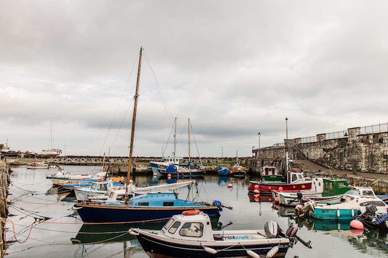 Photo: Boats at Carnlough Harbour
