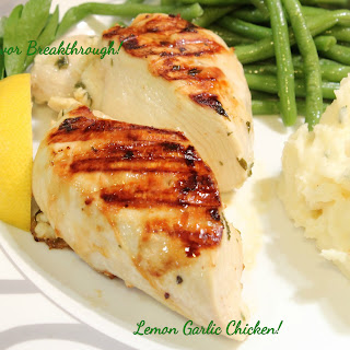 Lemon Garlic Chicken!
