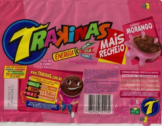 Embalagem planificada da marca Trakinas. (Foto: Thabata F ...
