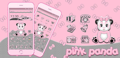 Cute Pink Panda Theme Apps On Google Play