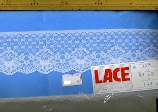Photo: №5128ラッセル:巾65㎜ 20m~46円/m50m~41円/m(税込み)