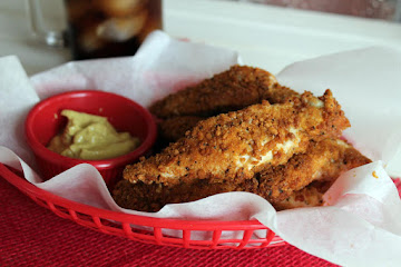 Healthy Oven Fried Chicken Strips Recipe