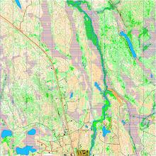 Photo: Hetta. Muodostettu Karttapullauttimella Maanmittauslaitoksen laserkeilausaineistoja hyväksikäyttäen 2012