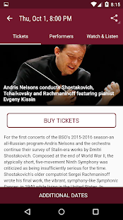 Boston Symphony Orchestra- screenshot thumbnail